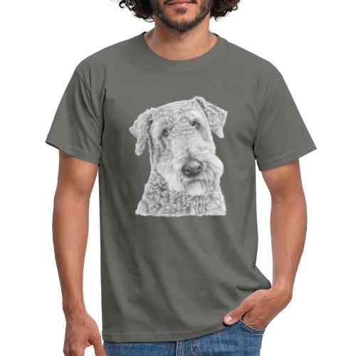 airedale terrier - Herre-T-shirt
