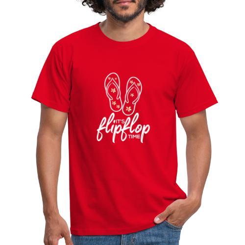 Flip Flop - Männer T-Shirt
