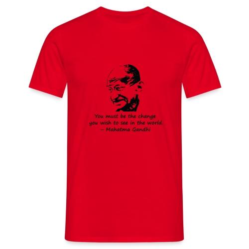 Be the Change - Men's T-Shirt