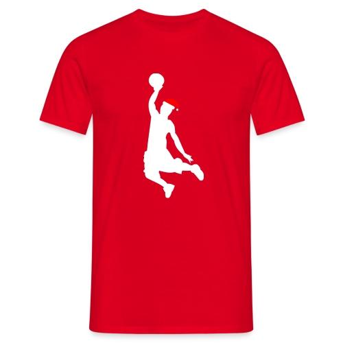 Basketball Player Silouette - Men's T-Shirt