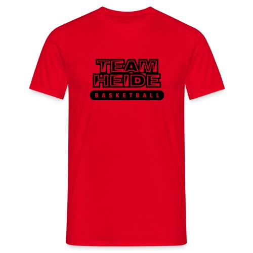 team heide basketball 1c - Männer T-Shirt