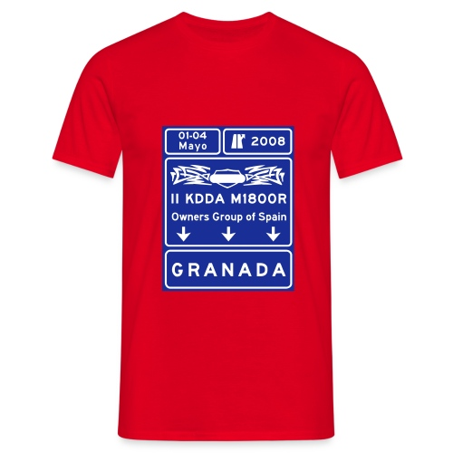 2kdda vec 2colores - Camiseta hombre