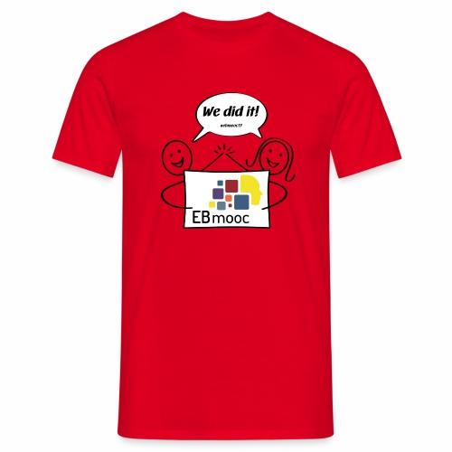 EBmooc 2017 Abschluss Comic - Männer T-Shirt