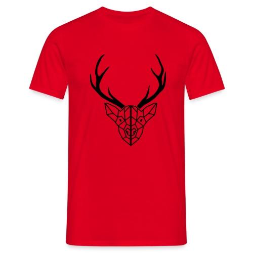deer antler - Men's T-Shirt