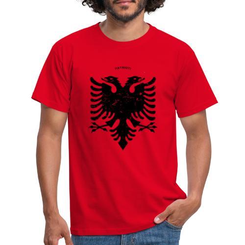 Albanischer Adler im Vintage Look - Patrioti - Männer T-Shirt