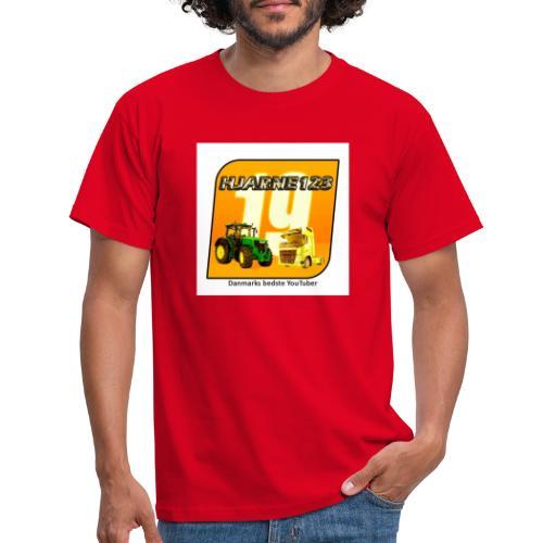 hjarne 123 danmarks bedeste youtuber - Herre-T-shirt