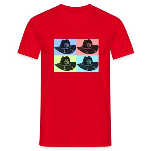 cuatro rick - Camiseta hombre