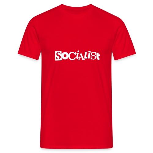 Socialist - Männer T-Shirt