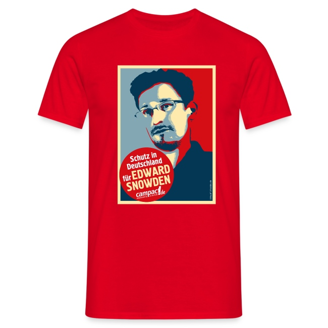 Motiv Snowden Obama SPREADSHIRT 01 jpg