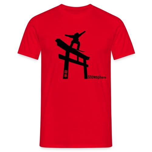 Snowboard Japan Torii Slide - Men's T-Shirt