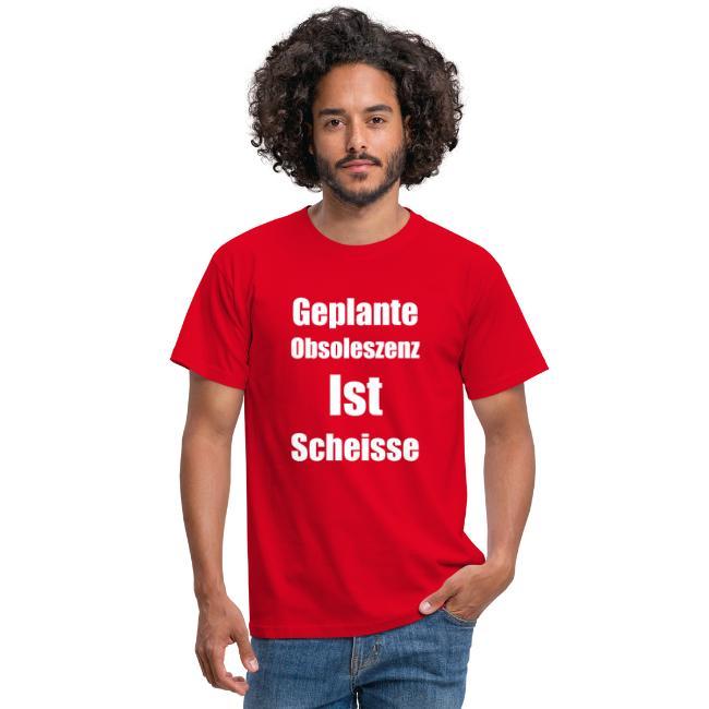 Obsoleszenz Weiss Schwarz