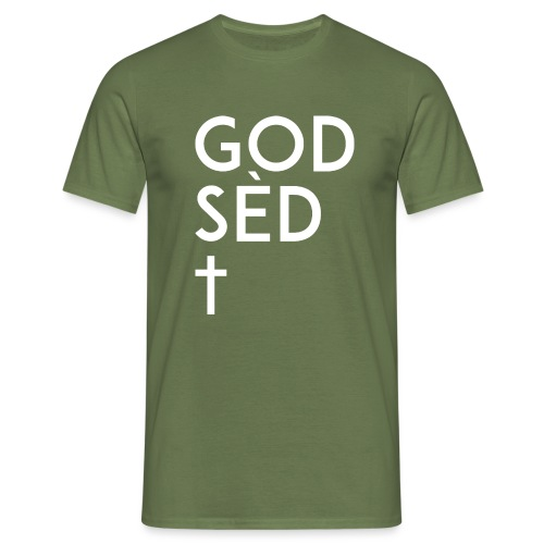 God sed the Cross - T-shirt Homme