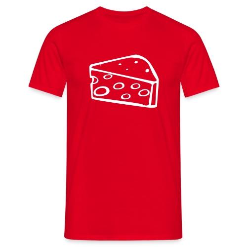 swiss cheese - Männer T-Shirt