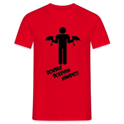 Double Dolphin 2 - Men's T-Shirt