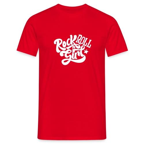 Rock n Roll Girl - Miesten t-paita