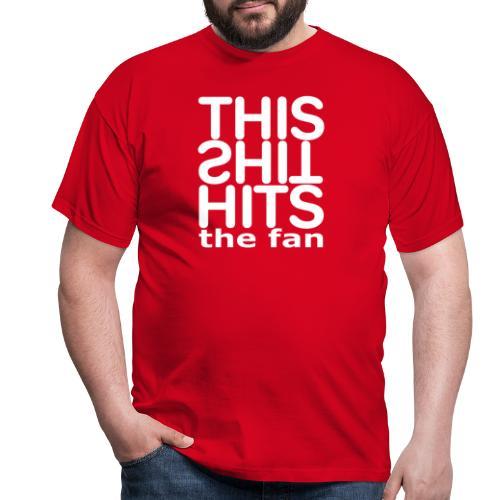 TSHTF WHITE - Camiseta hombre