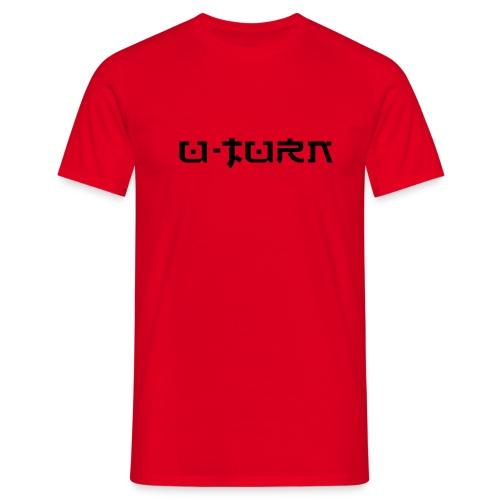 Typo black - Männer T-Shirt