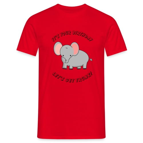 elephant birthday - Männer T-Shirt