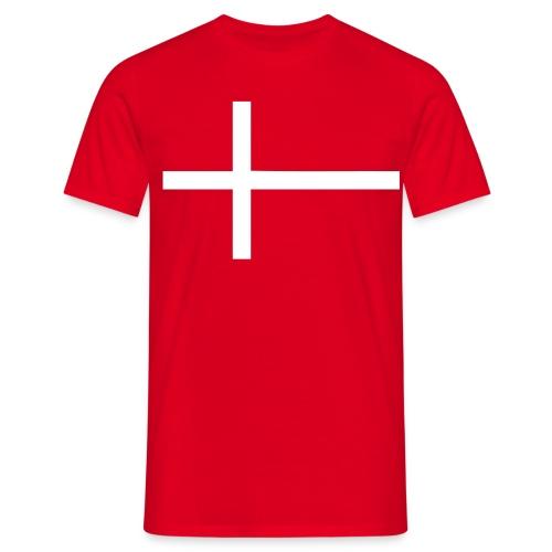 dannebrog - Herre-T-shirt