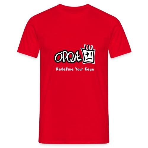 Logo OPQA - Camiseta hombre