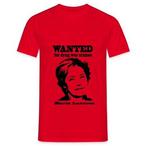 Wanted Maria Larsson - T-shirt herr