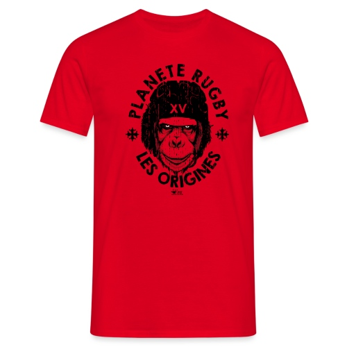 singe rugby png - T-shirt Homme