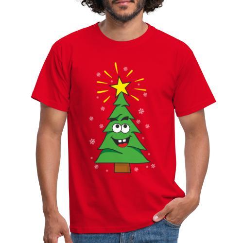 Árbol de navidad - Camiseta hombre