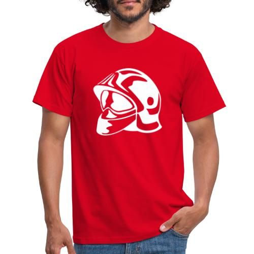 casque_pompier - T-shirt Homme