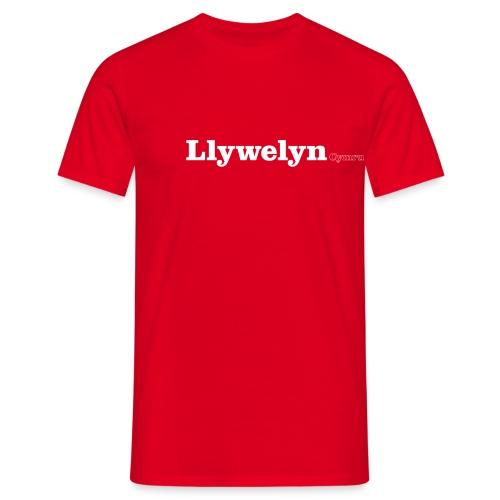 llywelyn cymru white - Men's T-Shirt
