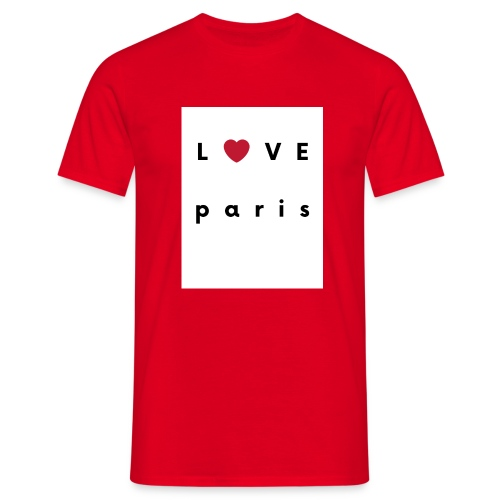 love paris france - T-shirt Homme