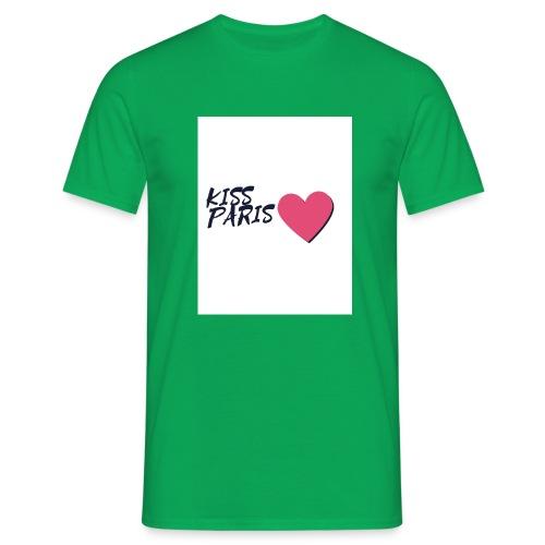 kiss paris - T-shirt Homme