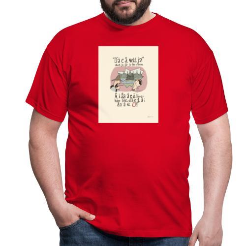 dumt fôlk - T-shirt herr