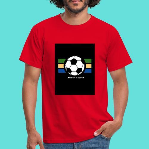 Quel est le score - T-shirt Homme
