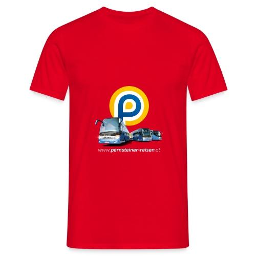 p busse internet weiss - Männer T-Shirt