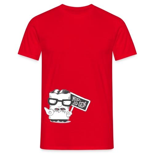musssosein frei png - Männer T-Shirt