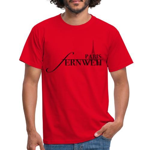 fernweh Paris - Männer T-Shirt