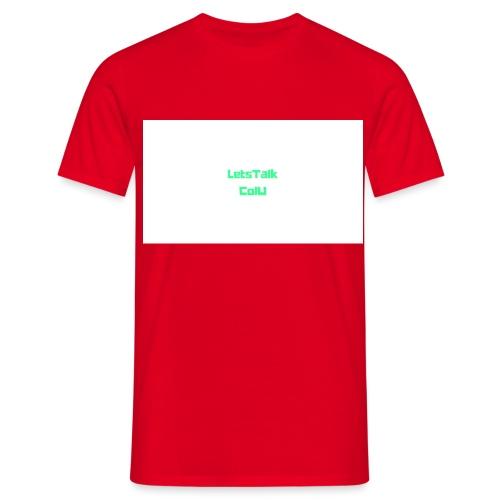 LetsTalk ColU - Men's T-Shirt