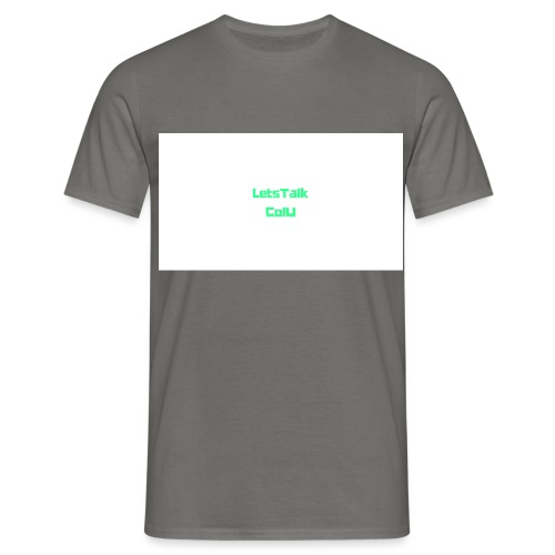 LetsTalk ColU - Men's T-Shirt