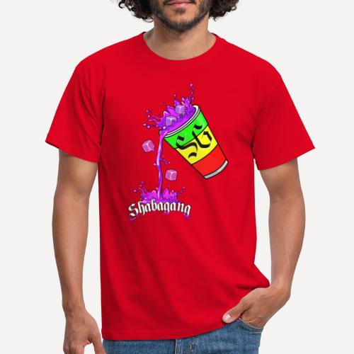 purple Cup Rasta - T-shirt Homme