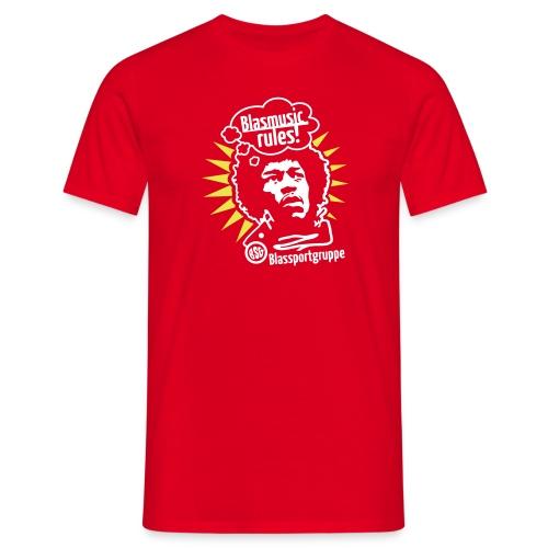 Blasmusic Rules - Männer T-Shirt