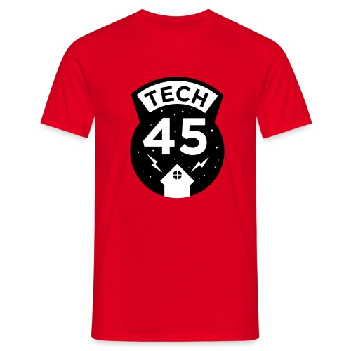 Tech45 logo - Mannen T-shirt