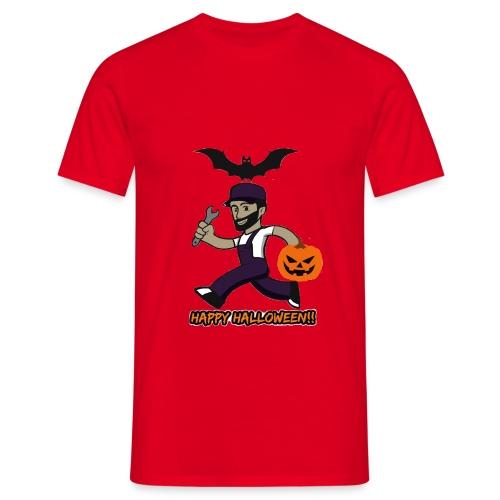 Halloween Buck - Mannen T-shirt