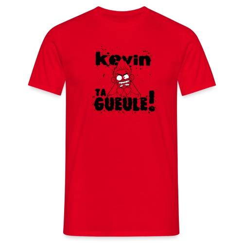 Kevin TA GUEULE Noir - T-shirt Homme