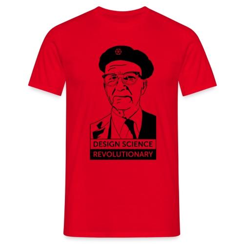 Buckminster Fuller - Design Science Revolutionary - Men's T-Shirt
