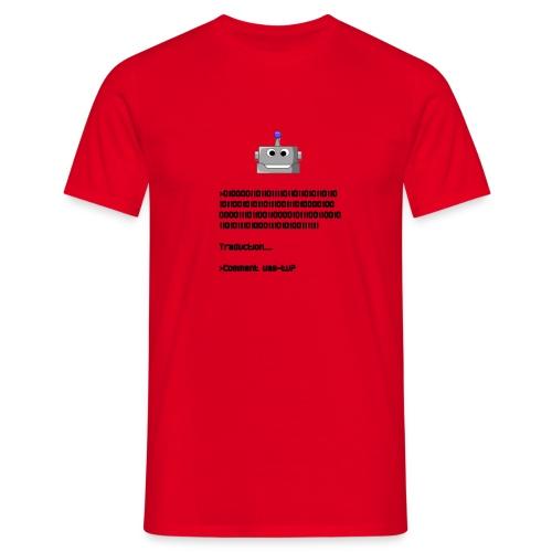 Salutation robotique - T-shirt Homme