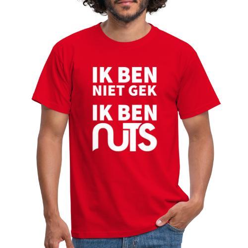 Ik ben niet gek, ik ben Nuts - Mannen T-shirt