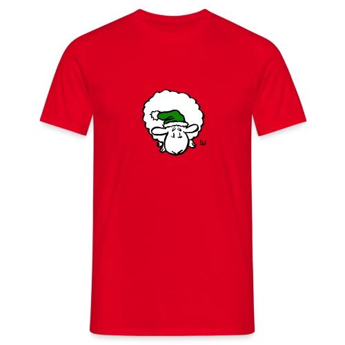 Santa Sheep (green) - T-shirt Homme