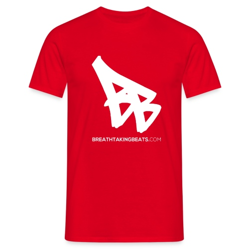 Breathtaking Beats Logo - Men's T-Shirt