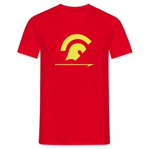 ds simple logo - Men's T-Shirt