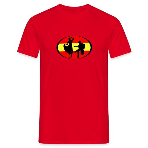 flamenco dessin - T-shirt Homme